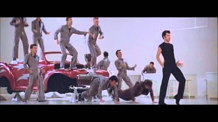 Grease  -  Greased Lightning  [ With Lyrics ] Mate de risa, me hace recorder mi niñez...