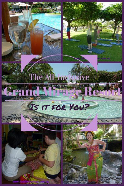 @grandmirage Mirage Resort Review for a family holiday