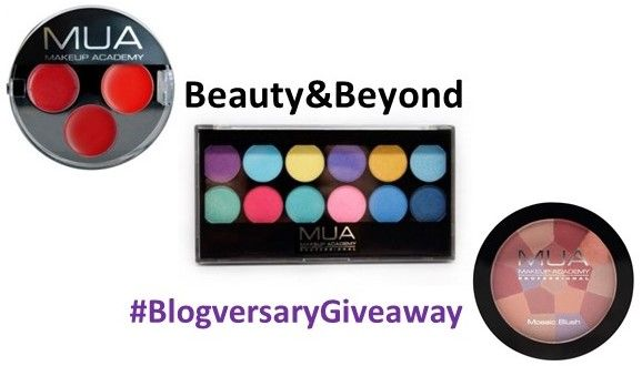 Beauty & Beyond: Beauty & Beyond #BlogversaryGiveaway:MUA Makeup Academy Hamper