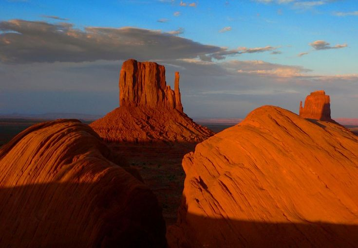 Sunset à Monument Valley
