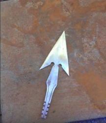 Repurpose a Spoon Into an Arrowhead