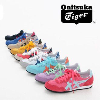 ☆ ☆ Onitsuka Tiger (ONITSUKA Tiger) sneakers Serrano locating casual shoes lightweight thin bottom SERRANO ASICs th105l