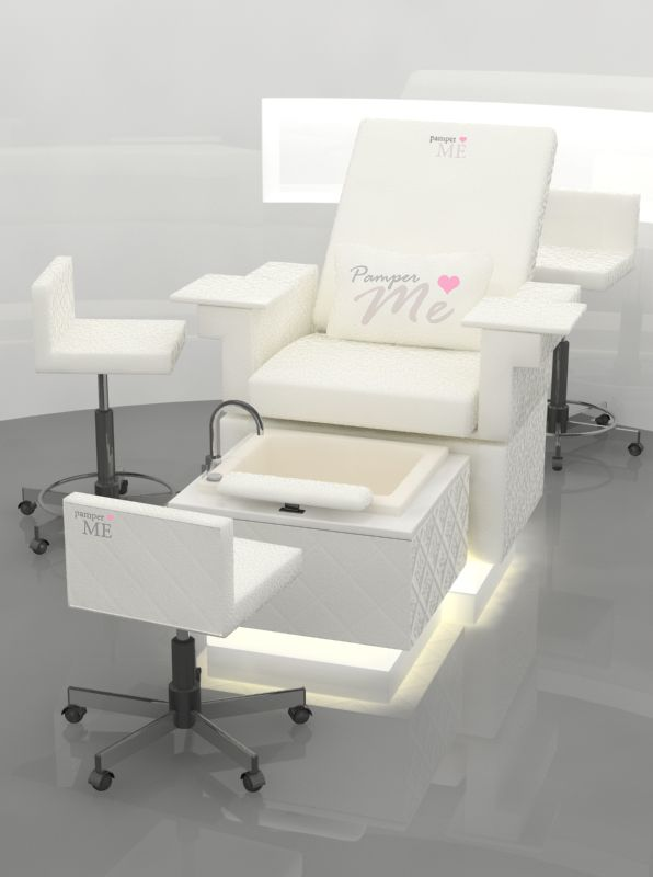 Pamperme chair new spa pedicure chairs when i have for Salon de pedicure