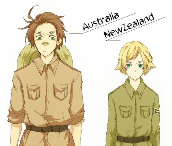 Hetalia Australia and New Zealand