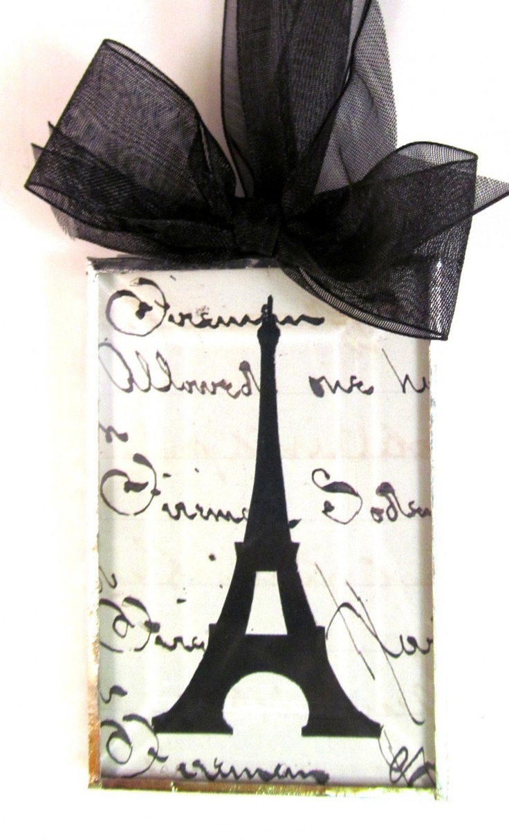 Totally Awesome Goods - Silhouette Ornament, Eiffel Tower , $22.00 (http://