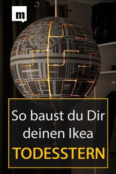 Video-Anleitung: Aus IKEA-Lampe wird Todesstern