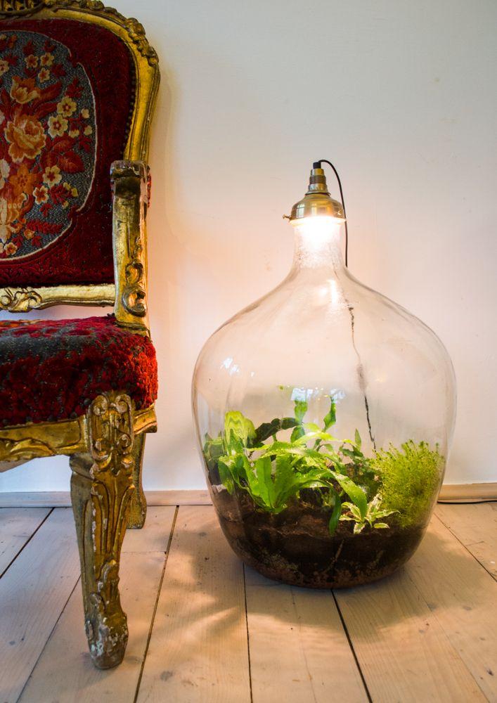 Klik hier om deze bijzondere plantlamp te zien, sustainable world Spruitje!
