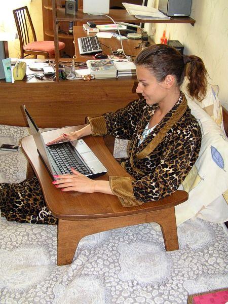 De masă pentru un laptop. Patru variante. Discuții pe Textillegprom - ruse serviciului online Diaries