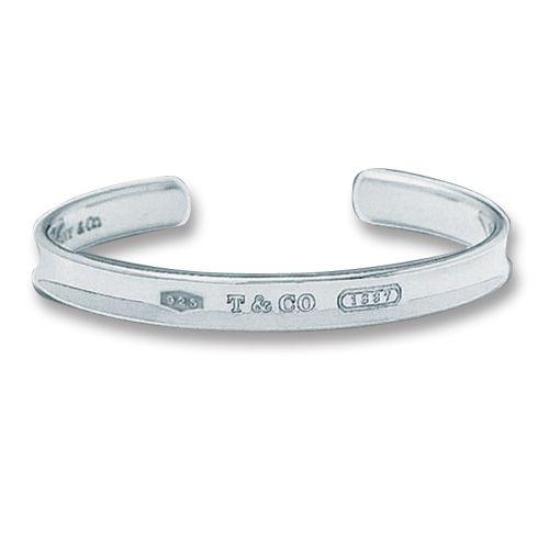 Tiffany Jewelry Bangles Transparent Semi Trimmed T CO
