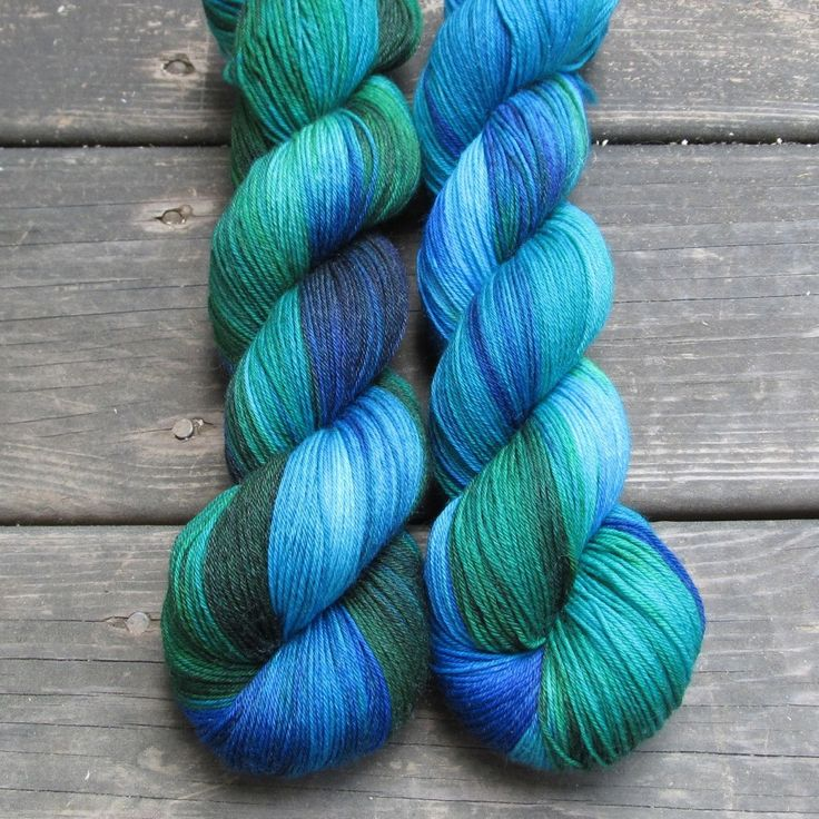 Smurf And Turf - Tarte - Babette | Miss Babs Hand-Dyed Yarns & Fibers, Inc.