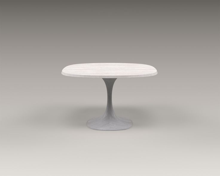 AKAR DE NISSIMu0027s Dining Table TRIBUTE In Solid Maple, With Its Marble Top    It