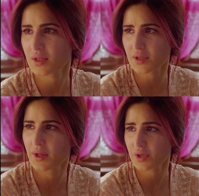 Katrina Kaif in Fitoor #Redhair #Sad #crying #beautiful