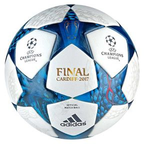 adidas Finale Cardiff 2017 UEFA CL Official Match Soccer Ball: http://www.soccerevolution.com/store/products/ADI_80169_E.php