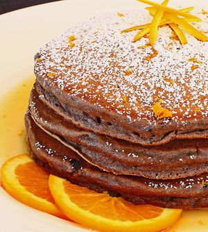 Tip: if you like your pancakes quite sweet then I'd add three more tablespoons of sugar
