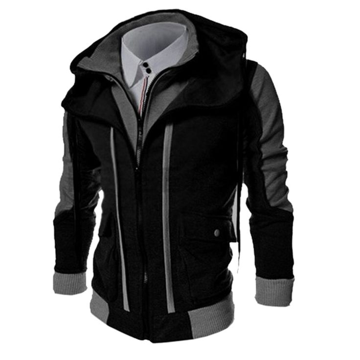 2017 Hot sales New Fashion Casual Men's Hoodies Sweatshirts Slim Fit Men Sweatshirts Double Zipper Mens Outdoors Clothes Hoody