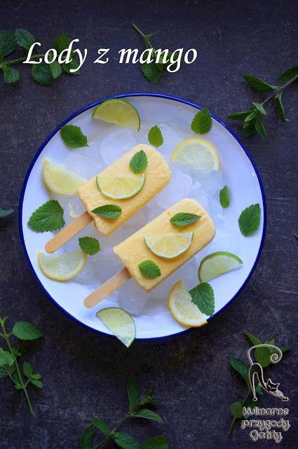 Kulinarne przygody Gatity: Jogurtowe lody z mango (bez maszynki)