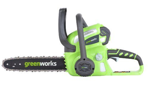 Greenworks 20262 G-Max 40V Li-Ion 12-Inch Cordless Chainsaw, (1) 2Ah Battery And A Charger Inc., 2015 Amazon Top Rated Chainsaws #Lawn&Patio