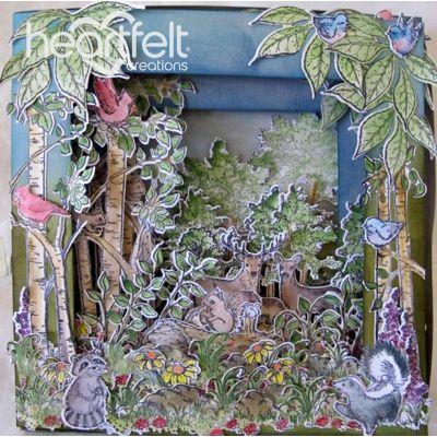 Gallery | Woodsy Scene Tunnel Card - Heartfelt Creations