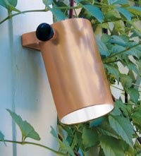 35 best cast landscape lighting images on pinterest landscape this sturdy niche light features a heavy gauge copper shroud with solid bronze base and removable reflector pin this outdoor lighting fixture aloadofball Choice Image