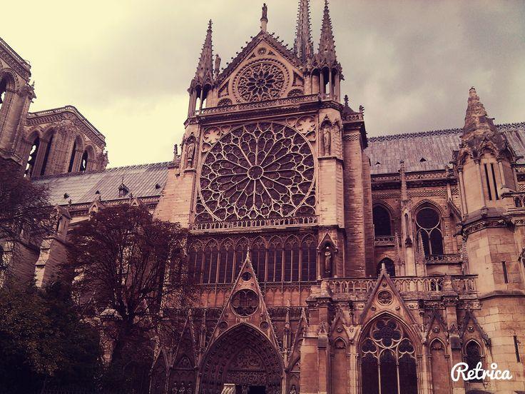 Cathédrale Notre-Dame de Paris à Paris, Île-de-France