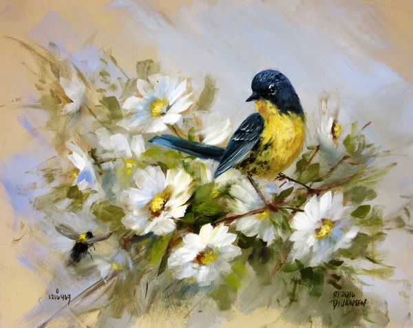 S101 The Art Of Painting Birds Online Class Paintings In 2019