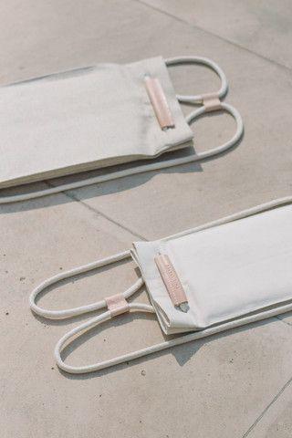 Convertible Pocket Bag Small Off White