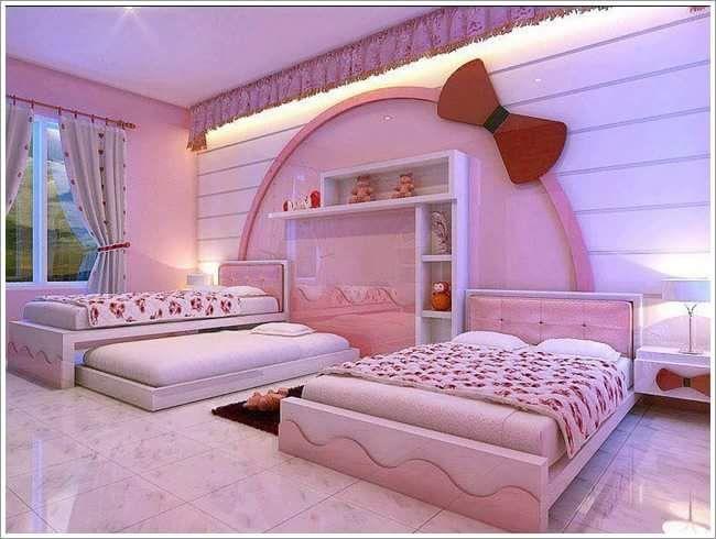 Yatak Odası Pembe.