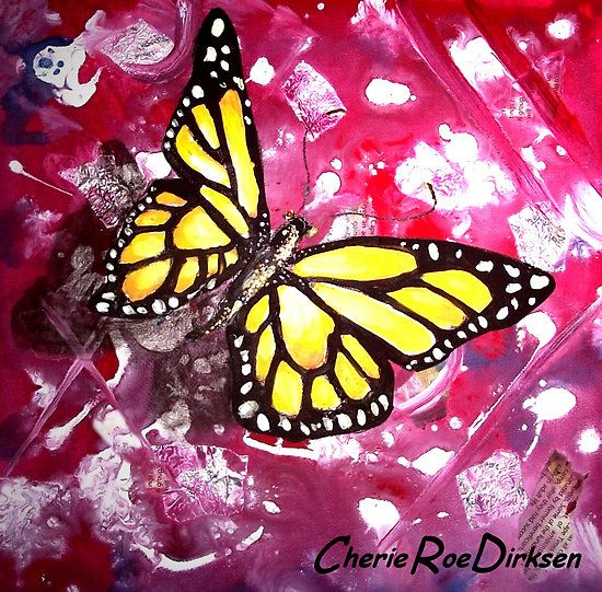 The Butterfly Effect (Chaos Theory) - Finding Beauty in Chaos Series by Cherie Roe Dirksen (high quality prints available) #art