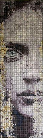 Chojan // Half Portrait  - mozaika artystyczna