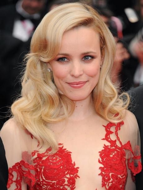 Rachel McAdams-- Old Hollywood glamour hair