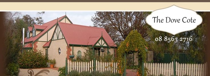 The Dove Cote accommodation in the Barossa Valley