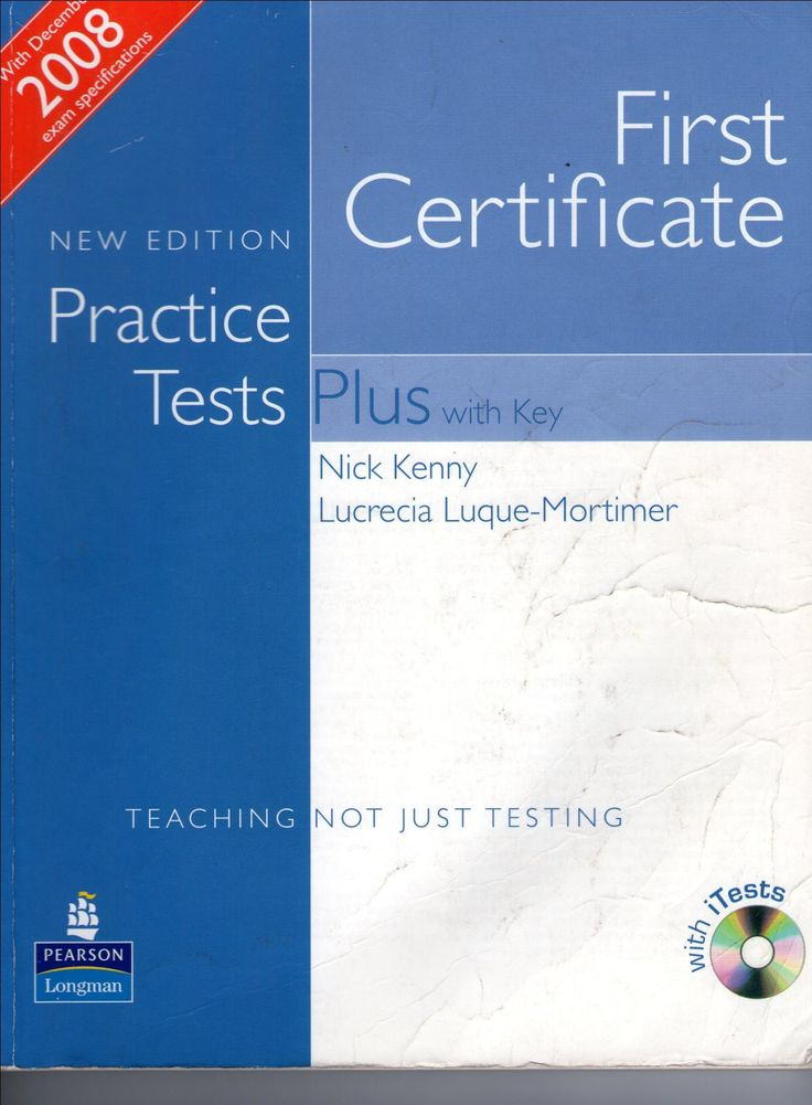 Ebook First Certificate Practice Tests Plus New Edition With Key Pdf Audio Practice Testing Teacher Books English Learning Books