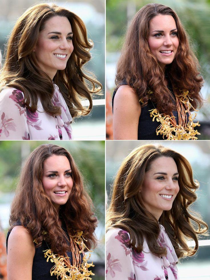 Wusstet ihr eigentlich, dass auch Kate Middleton, besser gesagt Duchess Catherine, sehr viele und sehr dicke Haare hat? Das sieht man meist nicht, da ihr Stufenschnitt perfekt das Volumen bändigt und weil sie anscheinend Anti-Frizz-Produkte nutzt, die nur Royals vorbehalten sind (anders können wir Normale-Frizz-Geplagten uns diese permanente Makellosigkeit nicht erklären!). Aber bei hoher Luftfeuchtigkeit sind dann auch diese Stylingtricks überfordert und so gibt es tatsächlich Bilder, die…