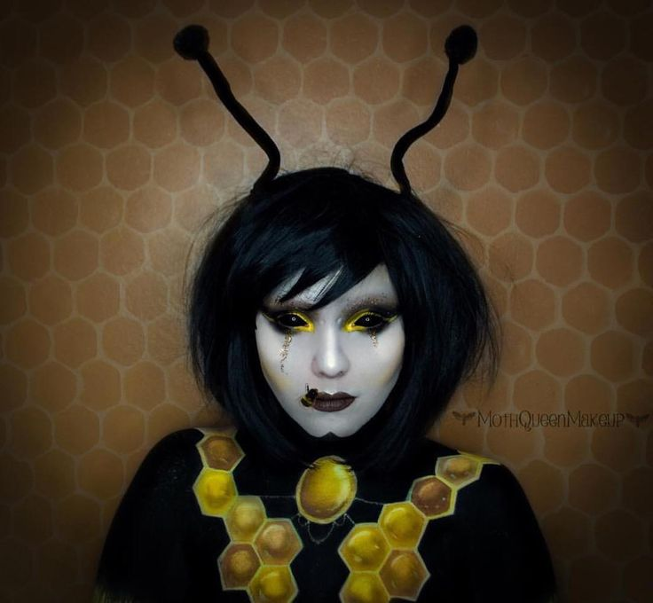 How awesome is this pic of @mothqueenmakeup In Lush style: Betty  What a #cutie  . . #lushwigsbetty #lushwigs #wig #lushhair #wigs #bumblebee #makeup #mua  Lushwigs.com (link in bio)