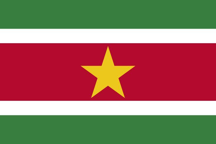 Fichier:Flag of Suriname.svg