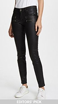 New PAIGE Edgemont Ultra Skinny Black Silk Wash w/Zips online. Find the perfect James Perse Clothing from top store. Sku hfdd20241twzd98979