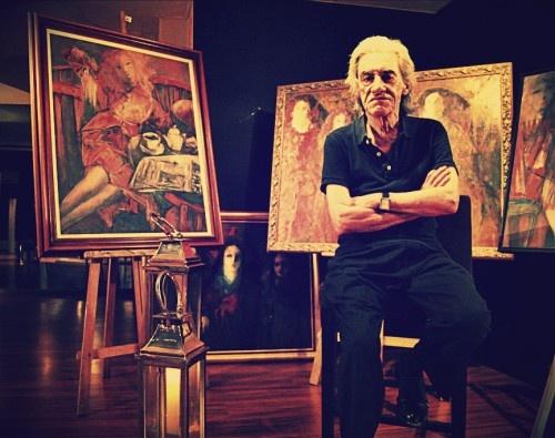 Con motivo de la exposición de Las damas de Barrigón hemos charlado con él en una entrevista en la que se vislumbra la personalidad de este artista.   #art #artist #paint