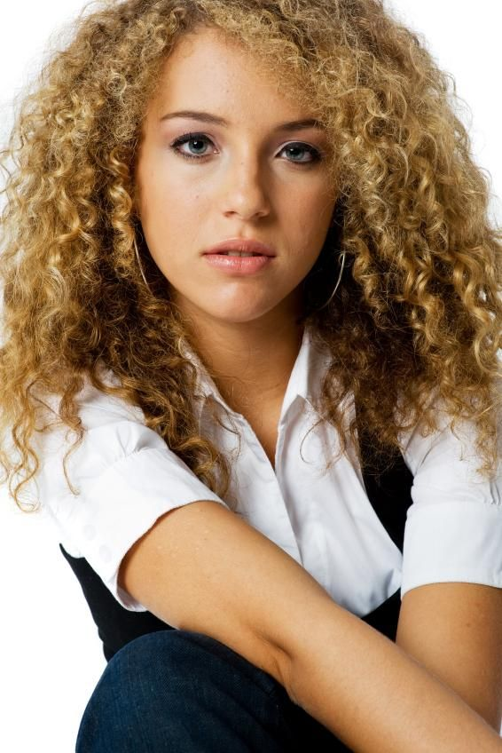 different hair curls styles different types of perm pictures pretty 6438
