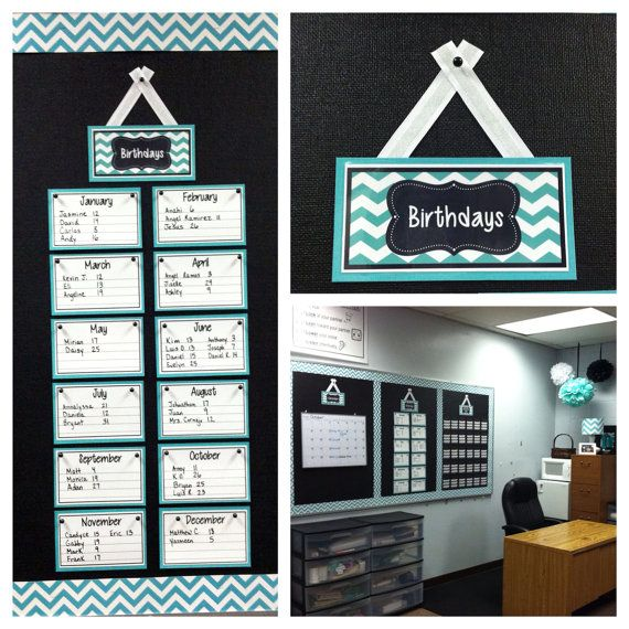 Calendar Board Printables : The best ideas about birthday calendar classroom on