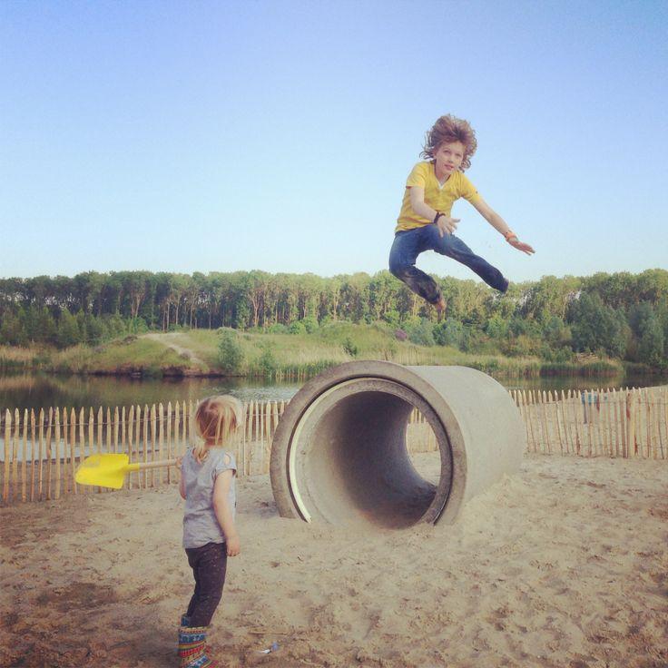Plezier maken/speeltuin