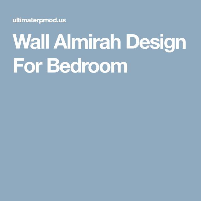 Wall Almirah Design For Bedroom