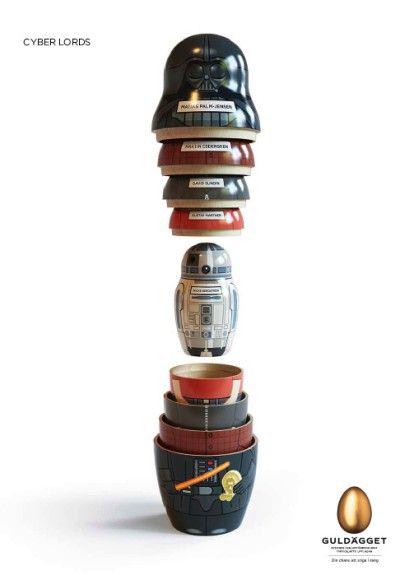 Star Wars Matrushka (sp?) dolls