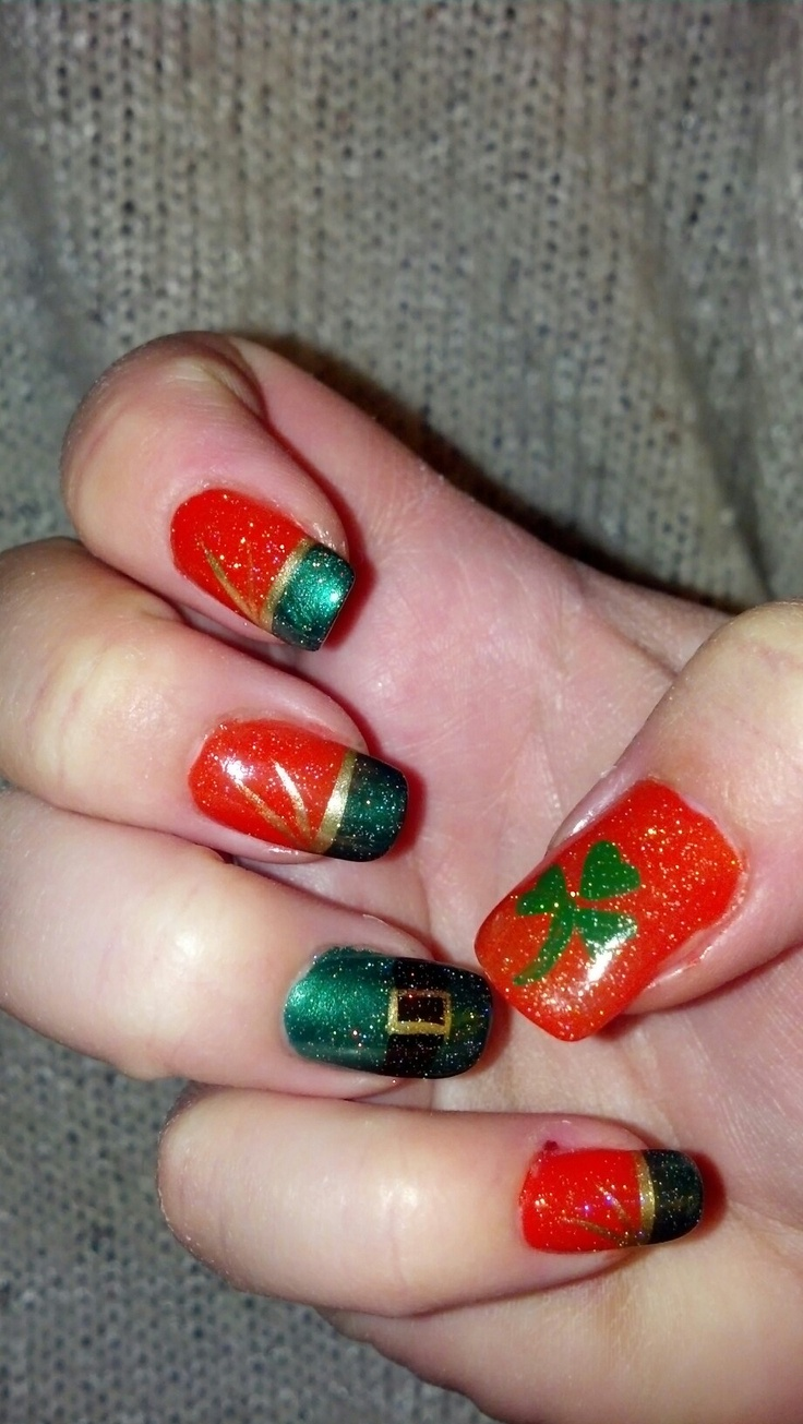 Irish-inspired nail art♧`•.¸¸.•´´:••.¸¸.• ´¯`•♧: a collection of ...
