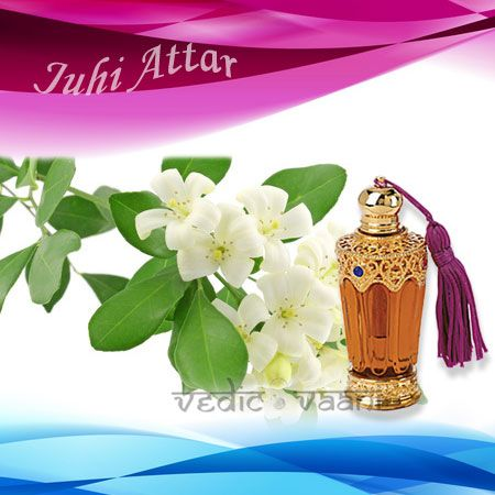 Juhi Attar, Jasmine Grandiflorum Attar we offer is known for a right blend of deep, intensely sweet floral notes and a smooth character. Steam distilled from flower part of the plant, this attar helps in achieving feeling of happiness as well as lightness to those who use it.