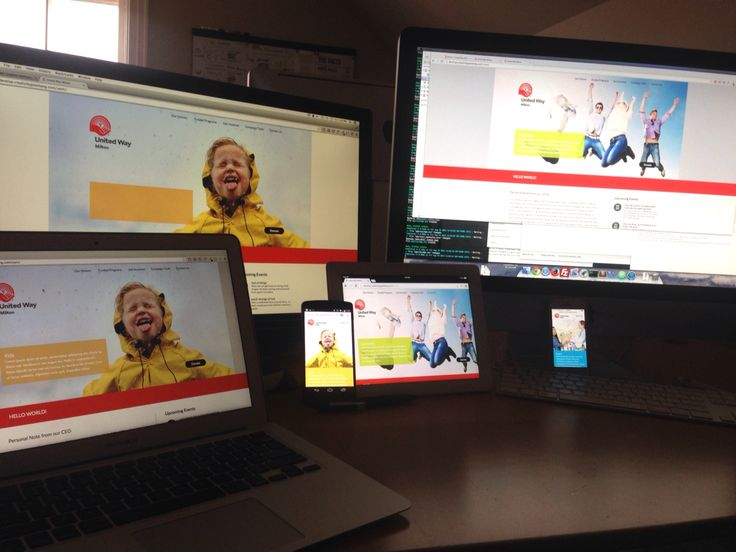 1 way to make sure the site is responsive! Test in all your devices. #develop #design #web