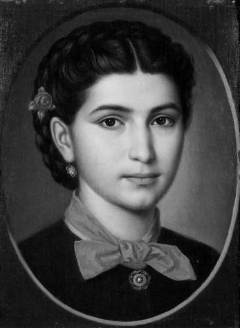 Mișu Popp - Portret de fata.