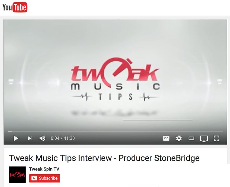 Did an in depth interview with the guys over at Tweak Music Tips last week - I am going through history, how to just look for what sounds good and much more. Thanks for the great feedback so far, love doing these and share knowledge! https://youtu.be/kt52Rh79MlQ #stonebridge #tweakmusictips #skamartist #skamlife