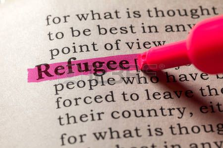 refugee: Fake Dictionary, Dictionary definition of the word refugee