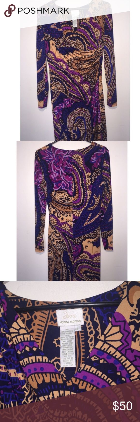 🌹✨Donna Morgan Dress Brand New!  No tag, Never been used.  Authentic !  ❌no trades Donna Morgan Dresses Midi