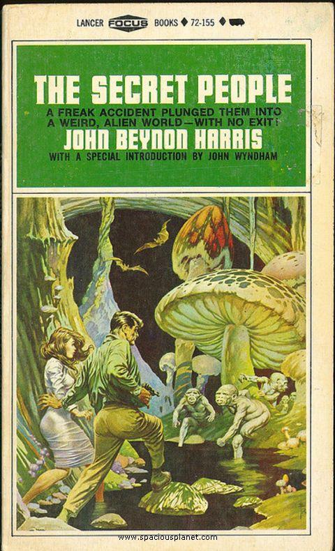 Sci Fi Book Cover Art : Awesome classic sci fi book cover john beynon harris the